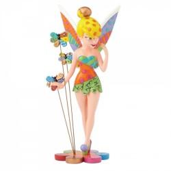Figurine Disney Britto La Fée Clochette et les papillons - Tinker Bell