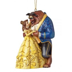 Figurine Disney Tradition Suspension Belle et la Bête - Beauty and the Beast