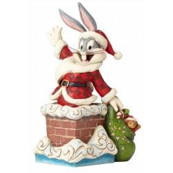 Figurine Looney Tunes by Jim Shore Bugs Bunny Noël -Santa Bugs Bunny