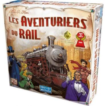 Jeux de société - Les Aventuriers du Rail