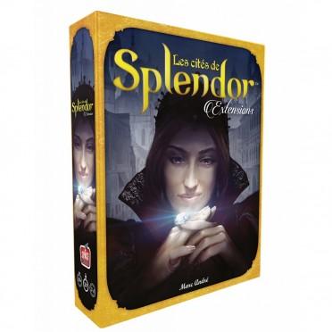 Jeux de société - Splendor extension Les Cités de Splendor