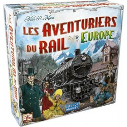 Jeux de société - Les Aventuriers du Rail Europe