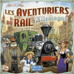 Jeux de société - Les Aventuriers du Rail Allemagne