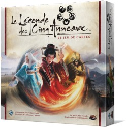 Jeux de société - La Légende des cinq Anneaux : Le Jeu de Cartes - 5 Anneaux