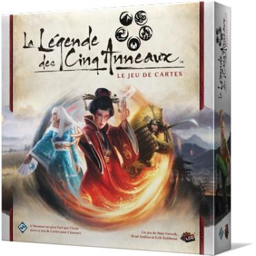 Jeux de société - La Légende des 5 Anneaux : Le Jeu de Cartes