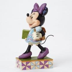 Figurine Disney Tradition Minnie en écolière - Top of the Class Minnie Mouse
