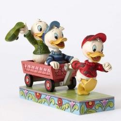 Figurine Disney Tradition Riri, Fifi et Loulou