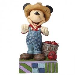 Figurine Disney Tradition Mickey fermier - Farmer Mickey