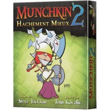 Jeux de société - Munchkin 2 : Hachement Mieux