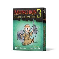 Jeux de société - Munchkin 3 : Clerc et (pas) Net