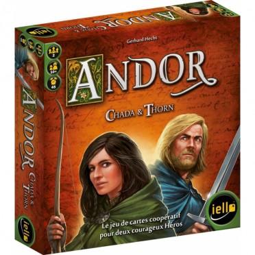 Jeux de société - Andor : Chada & Thorn