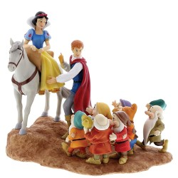 Figurine Disney Enchanting Blanche Neige et les Sept Nains - The Fairest Story Tale