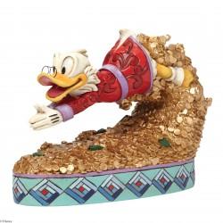 Figurine Disney Tradition Picsou et son Trésor
