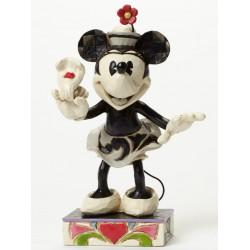 Figurine Disney Tradition Minnie Black & White