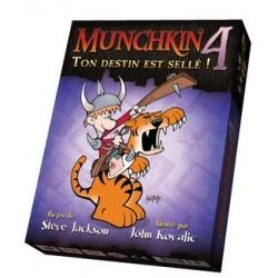 Jeux de société - Munchkin 4 : Ton Destin Scellé