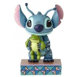 Figurine Disney Tradition Stitch et la grenouille - Strange Life-forms