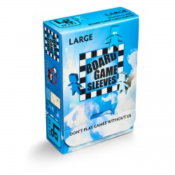 Board Game Sleeves 50 pochettes Antireflet Large 59 x 92 mm