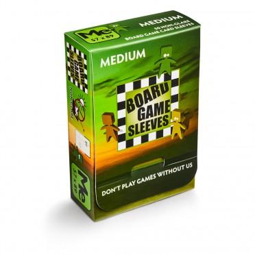 Board Game Sleeves 50 pochettes Antireflet Medium 57 x 89 mm