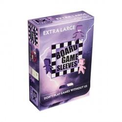Board Game Sleeves 50 pochettes Antireflet Extra Large 65 x 100 mm