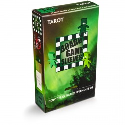 Board Game Sleeves 50 pochettes Antireflet Tarot 70 x 120 mm