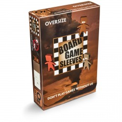 Board Game Sleeves 50 pochettes Antireflet Oversize 79 x 120 mm