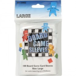 Board Game Sleeves 100 pochettes Large 59 x 92 mm
