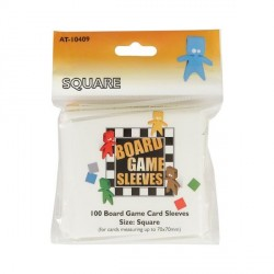 Board Game Sleeves 100 pochettes Square 70 x 70 mm