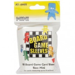 Board Game Sleeves 100 pochettes Mini 41 x 63 mm
