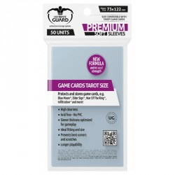 Protège-cartes Ultimate Guard transparente Premium jeu de Tarot