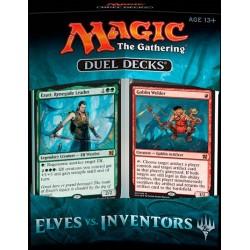 Duel Decks Magic MTG : Elves vs. Inventors - Mono Vert - Bleu / Rouge