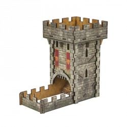 Piste et Tour à Dé - Dice Tower - Médieval Color Tower