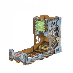 Piste et Tour à Dé - Dice Tower - Color Tech Tower