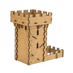 Piste et Tour à Dé - Dice Tower - Médieval Tower