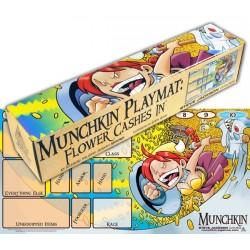 Jeux de société - Tapis de jeu Munchkin - Flower Cashes In