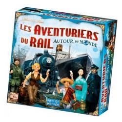 Jeux de société - Les Aventuriers du Rail Autour du Monde