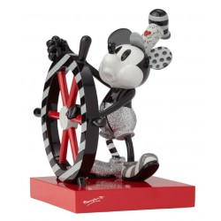 Figurine Disney Britto Mickey Mouse en matelot - Steamboat Willie
