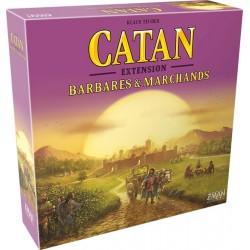 Jeux de société - Catan extension Barbares et Marchands