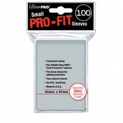 Protèges-cartes Ultra Pro transparent small