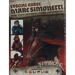 Jeux de société - Zombicide Black Plague Spécial Guest Marc Simonetti