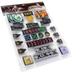 Jeux de société - Zombicide Black set de Tokens plastique