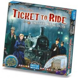 Jeux de société - Les Aventuriers du Rail Ext. Royaume Uni - Pennsylvania