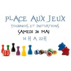 Place aux jeux - Initiations Jeux de Société 26/05/18