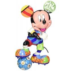 Figurine Disney Britto Mickey Mouse footballeur