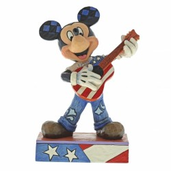Figurine Disney Tradition Mickey guitariste - Rock & Roll Mickey