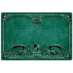 Tapis de jeu Dragon Shield illustré - Vert