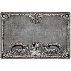 Tapis de jeu Dragon Shield illustré - Gris
