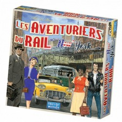 Précommande : Jeux de société - Les Aventuriers du Rail New York 22/06/18