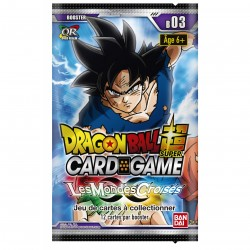 Booster Dragon Ball Super Card Game - Les mondes Croisés z - Cross Worlds - 05/07/18