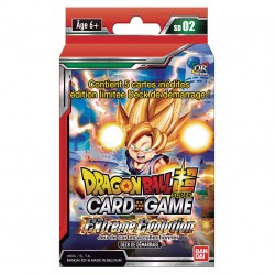 Starter Dragon Ball Super Card Game SD02 - The Extreme Evolution 05/07/18