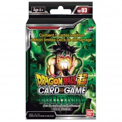 Starter Dragon Ball Super Card Game SD03 - Dark Invasion 05/07/18